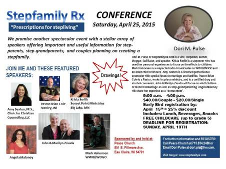2015 Stepfamily Rx Conference_April Final Flyer