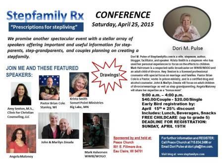 2015 Stepfamily Rx Conference_April Final Flyer
