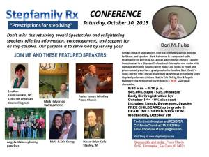 2015 Stepfamily Rx Conference_October Draft Flyer