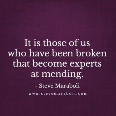 Broken to mended